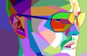 портрет в стиле кубизма