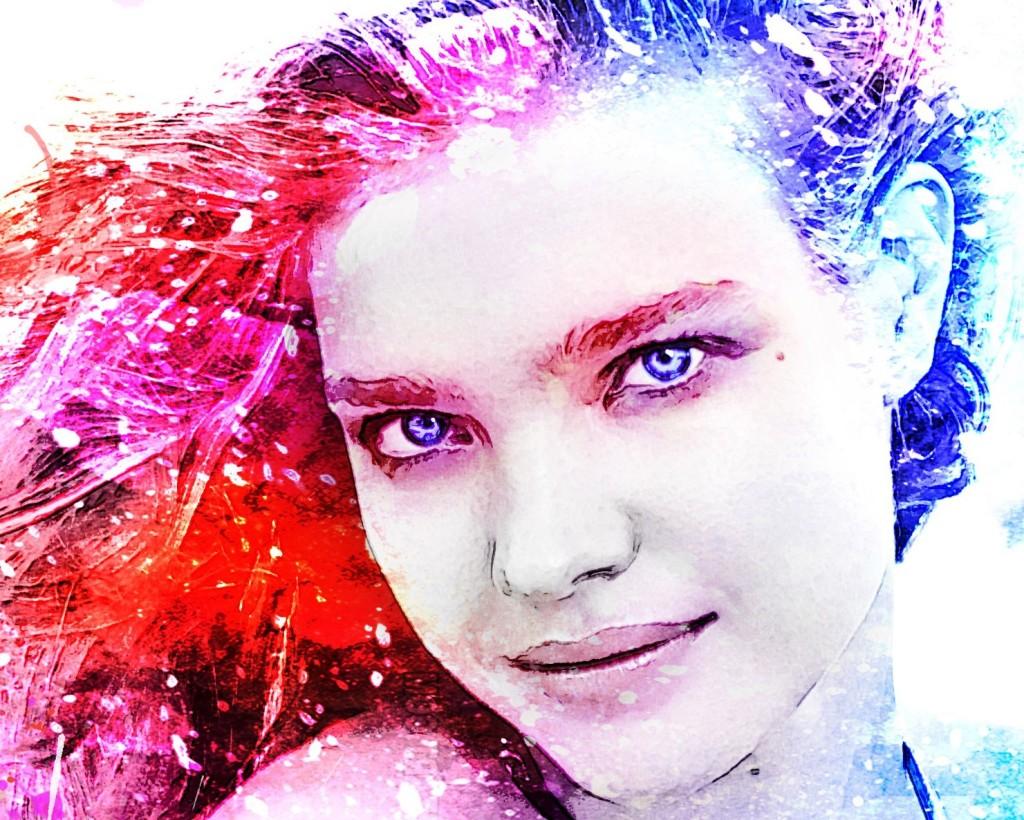 портрет по фото акварелью мск