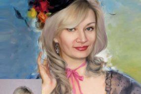 Заказать арт портрет по фото на холсте в Минске…