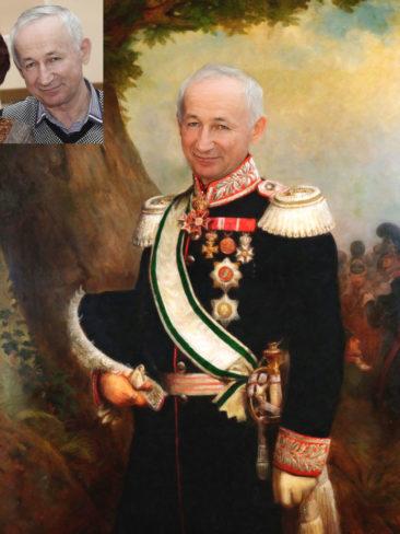 Где заказать исторический портрет по фото на холсте в Минске?